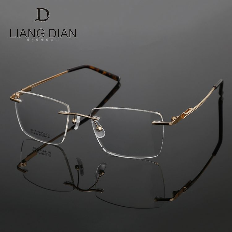 Ready stock New titanium optical spectacles frames for myopia