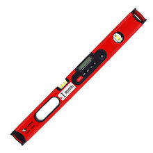 24''(600mm) Protractor Digital Laser Spirit Level W/Magnetic Level Angle Meter