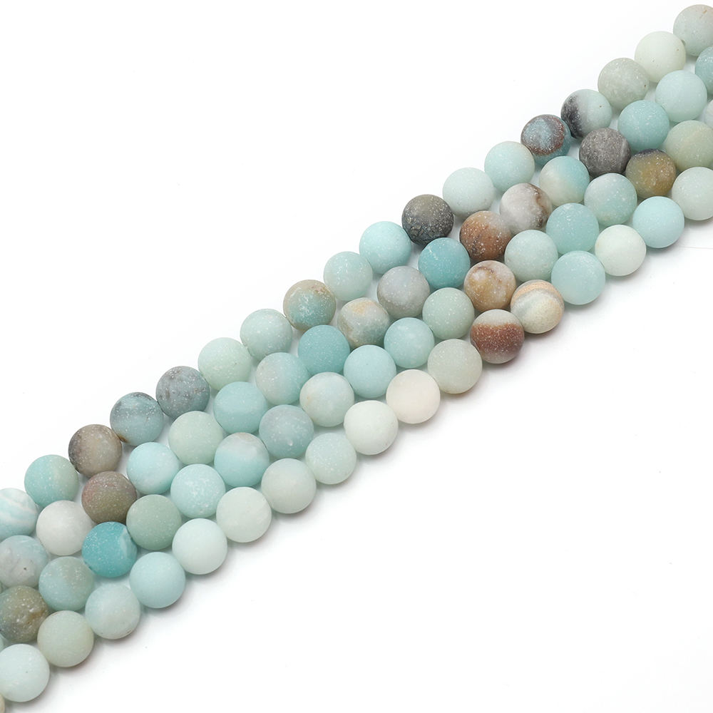 Loose Gemstone Beads Amazonite Natural Stones For Jewelry Making Beads For Bracelets And Necklace Parts To Make Jewelry