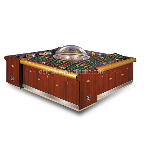 Hochwertiger 8. 10.12-Player Multiplayer Coin Operated Elektronisches Video-Roulette-Spiel automat