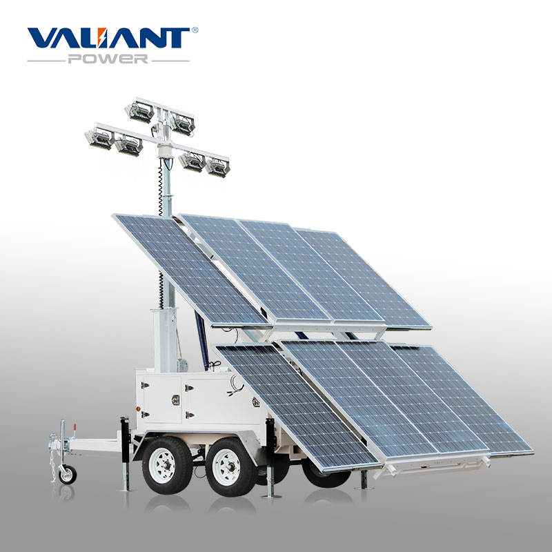 hot sale good quality mobile 20kw light towers for sale
