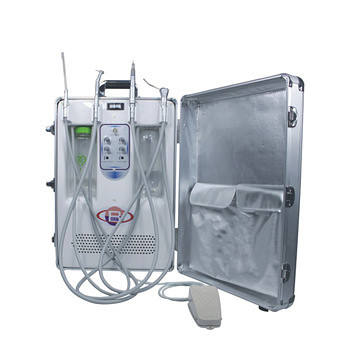 Cheap Mobile Portable Dental Unit With Air Compressor