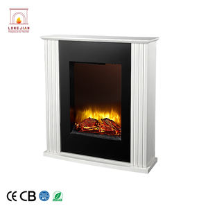 Cheap Price unique design MDF surround safety standing wood fireplace for sale
