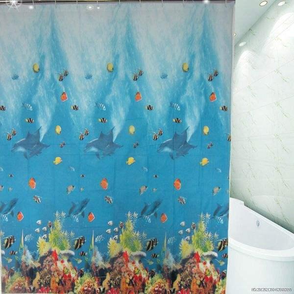 2015 новинка занавески для душа quidation затоваривание излишки в поисках немо ванная комната полиэстер занавес