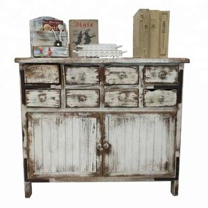 Shabby Chic French Furniture Wooden Cabinet Designs For Living Room