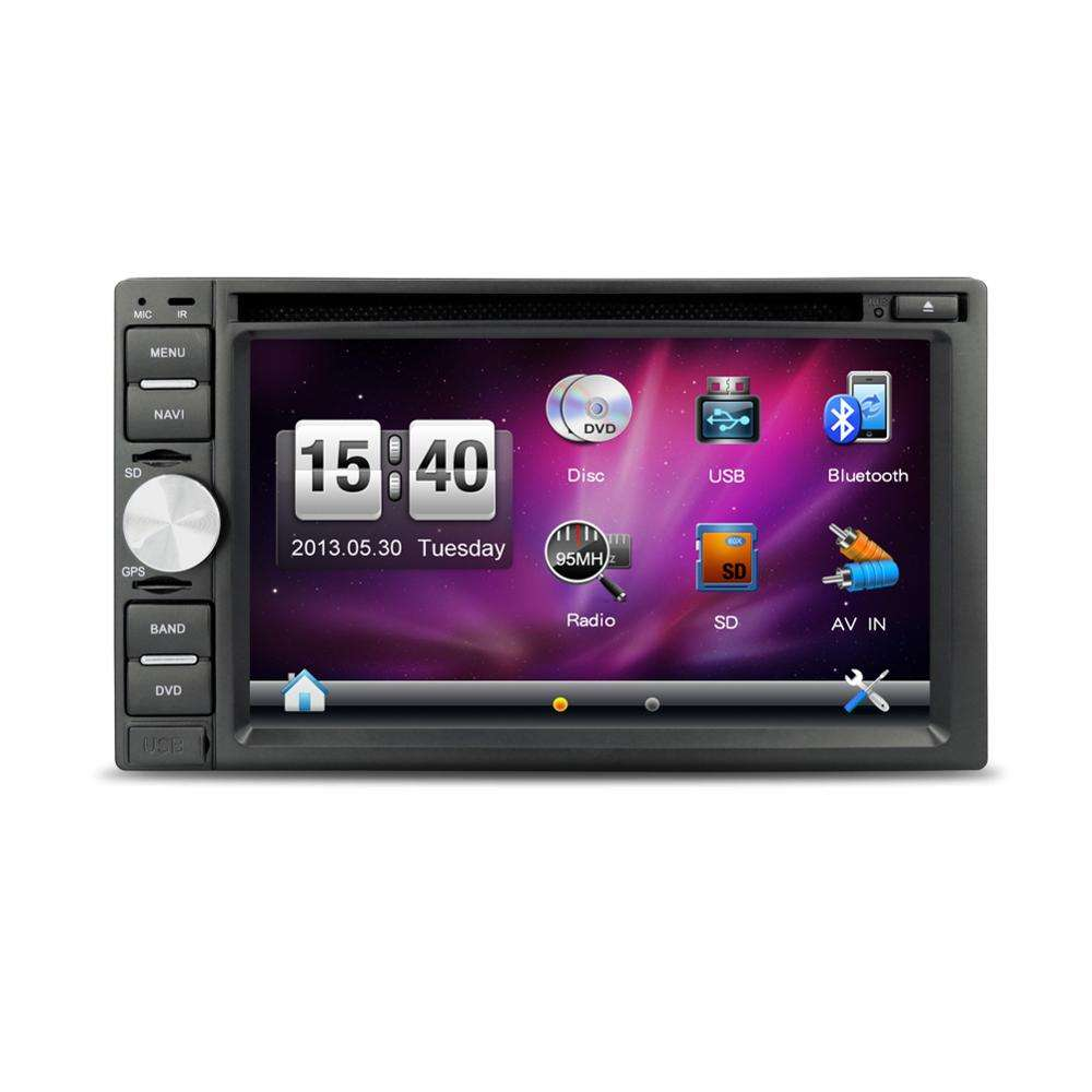 Android 8.1 system 2din auto dvd mit 1080 für universal spiegel link FM + USB + Bluetooth auto audio stereo video DVD player