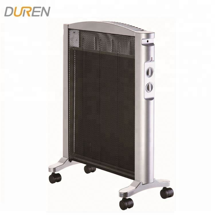Quality Guaranteed 1500W Wheels for convenient moving electric floor convector portable mica panel heater