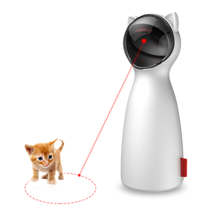 Automatic Rotating Laser Pet Cat Toy Interactive Fun For Cats Exercise Entertainment Training Tool Interactive Cat Toys