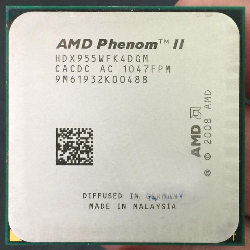 Processors for AMD II X4 955 3.2GHz 6MB L3 Cache Socket AM3 cpu