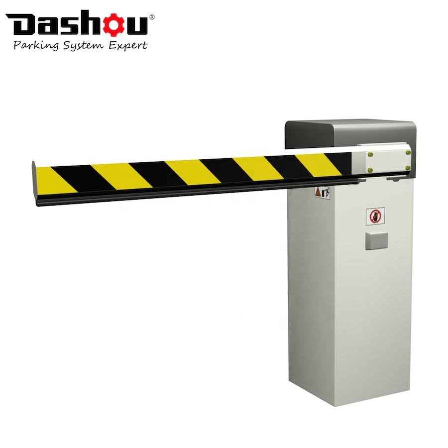 100% Duty Cycle 10 Million MTBF RFID Vehicle Barrier Gate Parking