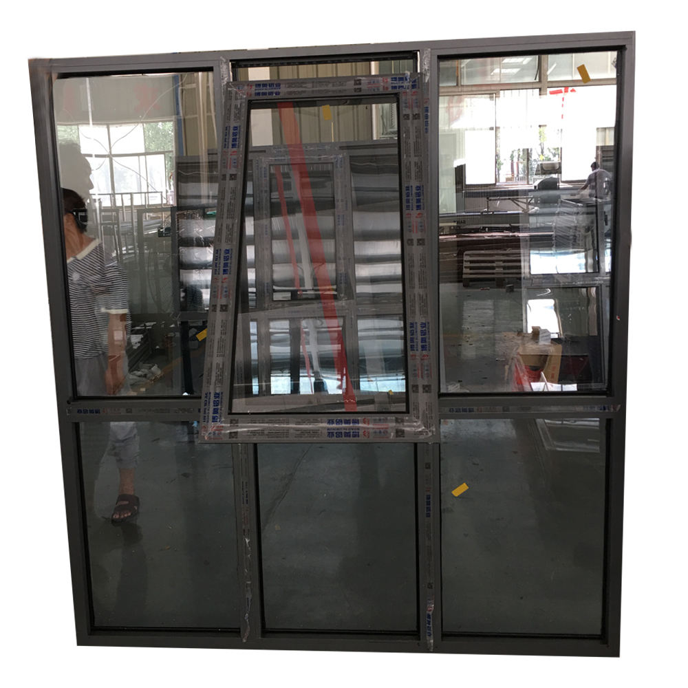 2020 Sound proof latest aluminium casement window design ,vertical casement thremal break aluminum frame window