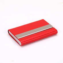 Promotion top selling pu leather card holder credit case