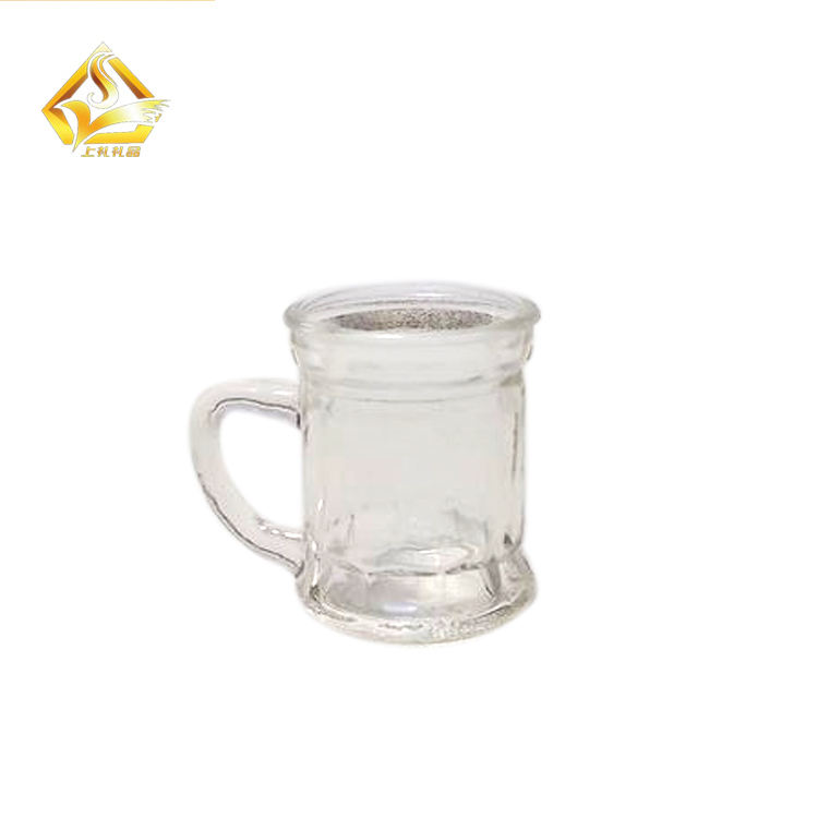 60 ml Mini Rõ Ràng glass tumbler beer cup shot glass pint glass với handle