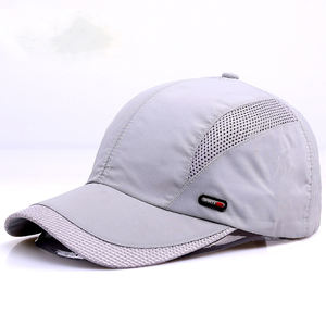 Summer Sport Mesh Baseball Cap Quick Dry Breathable Hats Waterproof Visor Cap
