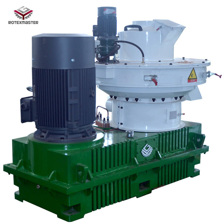 Popular Machine for Making Pellets for Burning Wood Wheat Husk Press Pellet Machine with CE Certificate
