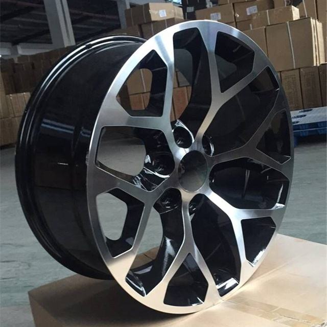 China A356 Aluminum Car Alloy Wheels 6*139.7 for Chevrolet GMC