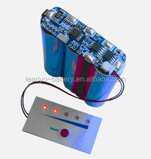 LED Battery Fuel Gauge for 11.1V/2.6AH battery pack