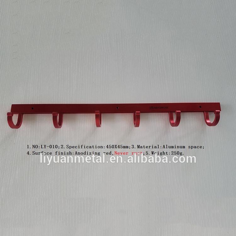 Алюминиевый стоя металлическая вешалка