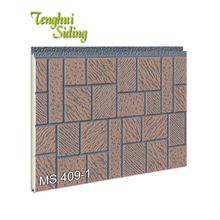 Fire Resistant Decorative Prefab Houses Sandwich Insulated Panel For Wall Prices Construction Building Materials