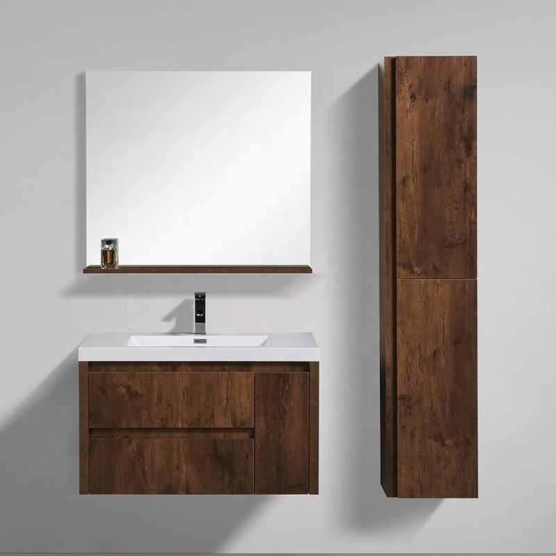 New fashion Wall Mounted Single Sink Cabinet 36 inch Bathroom Vanity