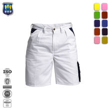 White Painter Pants Mens Cargo Pants Summer Work Shorts