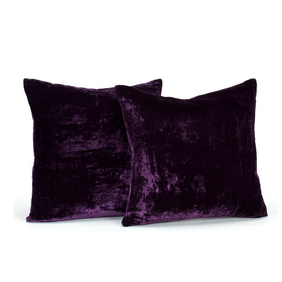 Square [ Cushion Velvet ] Throw Cushion Feather And Down Filled Cushion Sofa Velvet Throw Pillow Insert