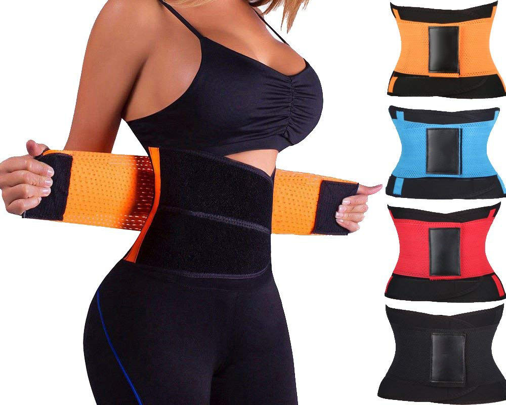 amazon hot selling trending products back lumbar support belt waist trainer corset shapers waist support belt