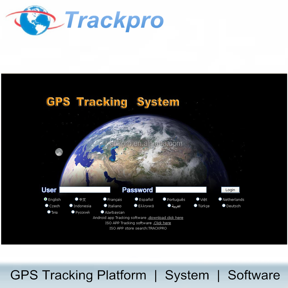 Gps control center software platform, gl100 voor fleet management, gl200, gl300, gl500, gl505, gmt100, gmt200 ect