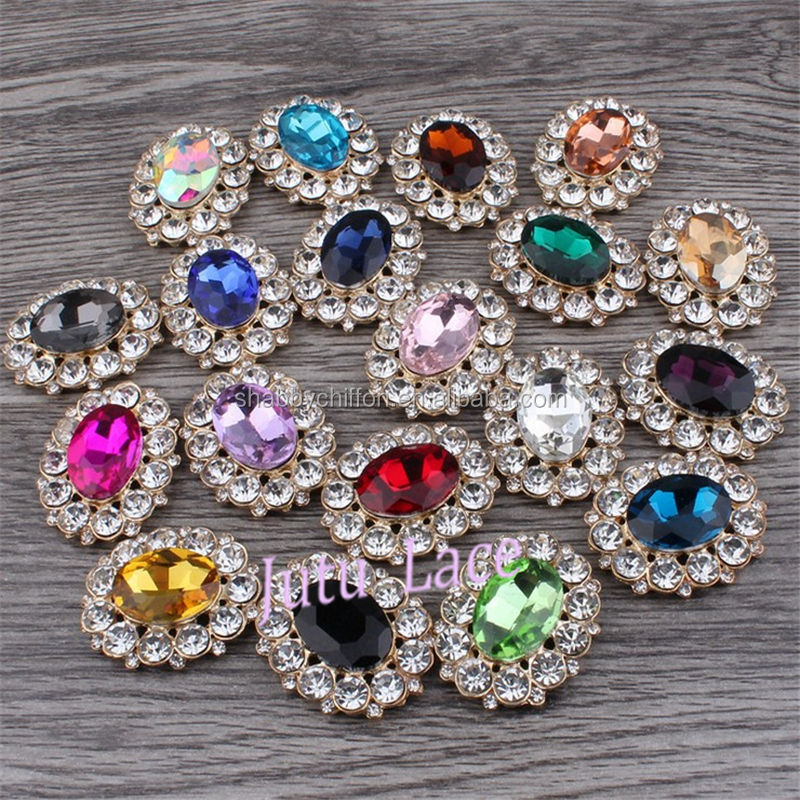 Vintage rhinestone appliques for sash / leather belts- - golden jewelry applique hair accessories for sash