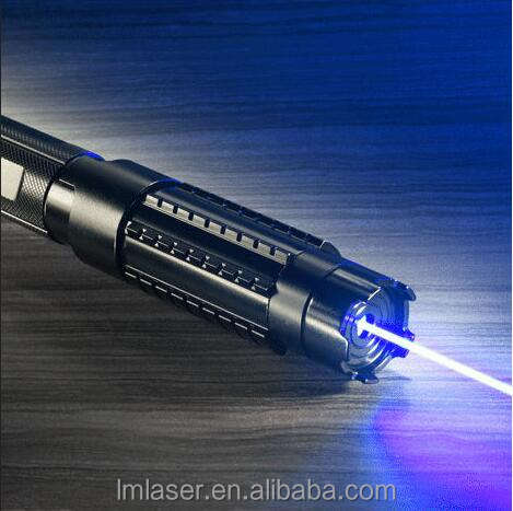 LM820B1 445nm 2000 mW High Power Blue Laser Pointer Lazer Pointer Met 5 Star Caps Verstelbare Focus