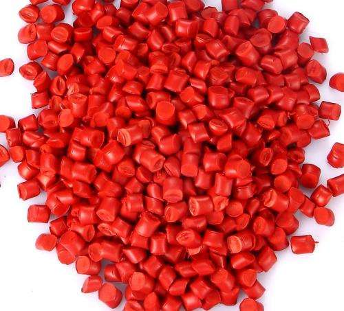 PP/PE/EVA GREEN/RED/YELLOW/GRAY Colourful plastic granules