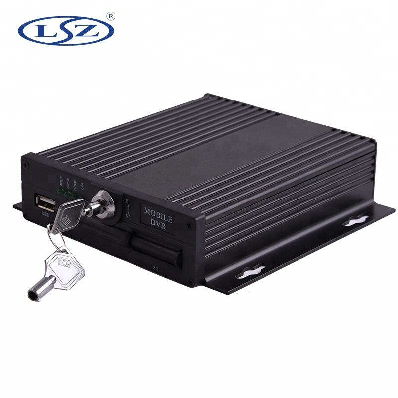 SD Card Mobile DVR 4 Kanal Video Recorder Englisch Russische Menü 4ch MDVR