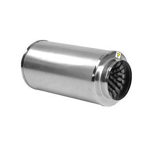 Hydroponic Ducting Components Air Duct Muffler for In line Duct Fan