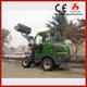 Mini telescopic forklift loader extend boom wheel loader