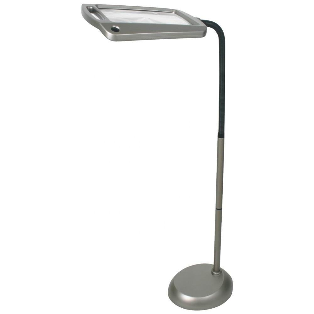 Floor Standing Full Page 3X Led Reading Magnifier/Magnifying Lamp