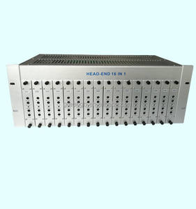 GG-16M Fixed channel CATV headend RF modulator 16 channels 16 in 1 modulator