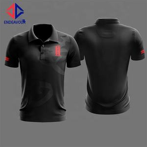 Nou Verkoop New Design Meerdere Kleuren Mannen Fancy Polo T-shirt