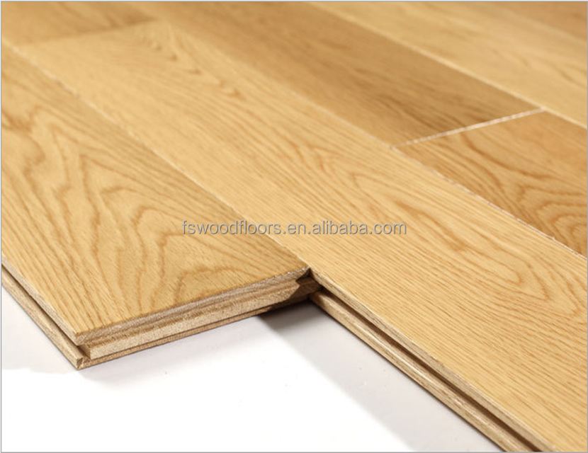 AB grade White oak solid wood flooring from Guangzhou supplier