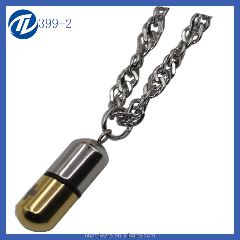 Durian Stainless Steel Guitar Pick Necklace Pendant Keychain