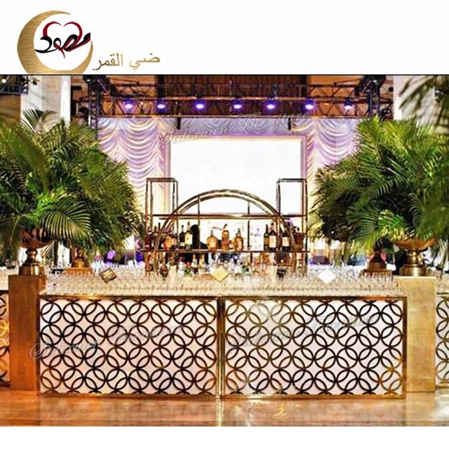 Commercial hotel furniture home portable led modern bar counter restaurant