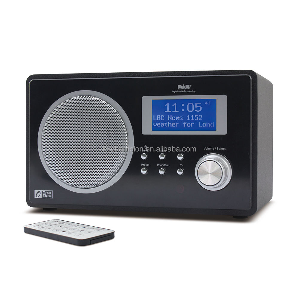 2018 HKTDC Fair Wooden Bluetooth FM DAB Radio