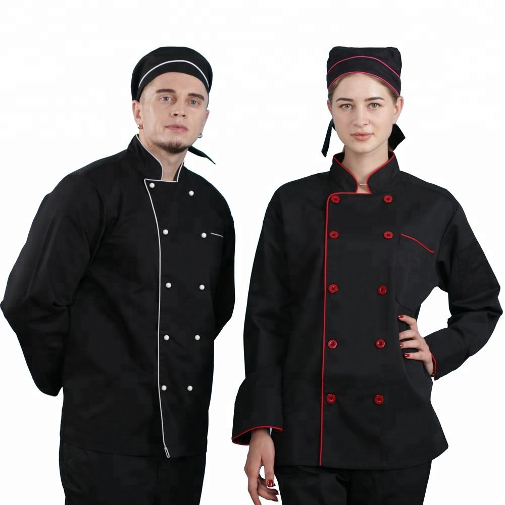 high quality competitive restaurant long sleeve short sleeve professional best executive designer chef jacket coat