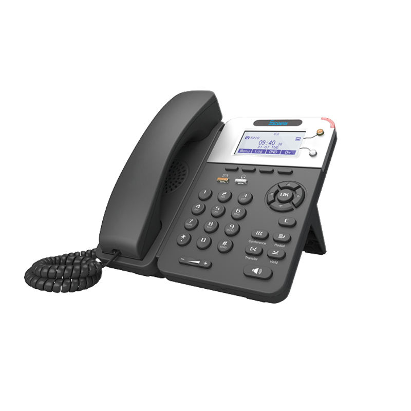 High quality VoIP phone 2 SIP line IP phone with POE IPH330P