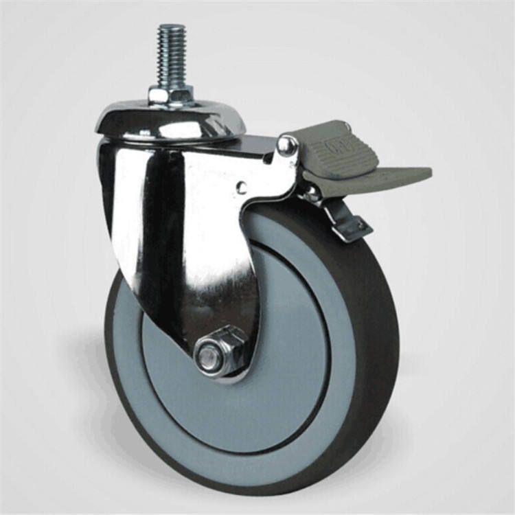 High Quality Hospital Bed Casters meidcal wheel caster 5 inch hospital bed caster with brake