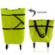 Collapsible Foldable Reusable Shopping Bags Grocery Bags Cart on Wheels Mini Folding Shopping Trolley Bags for Women