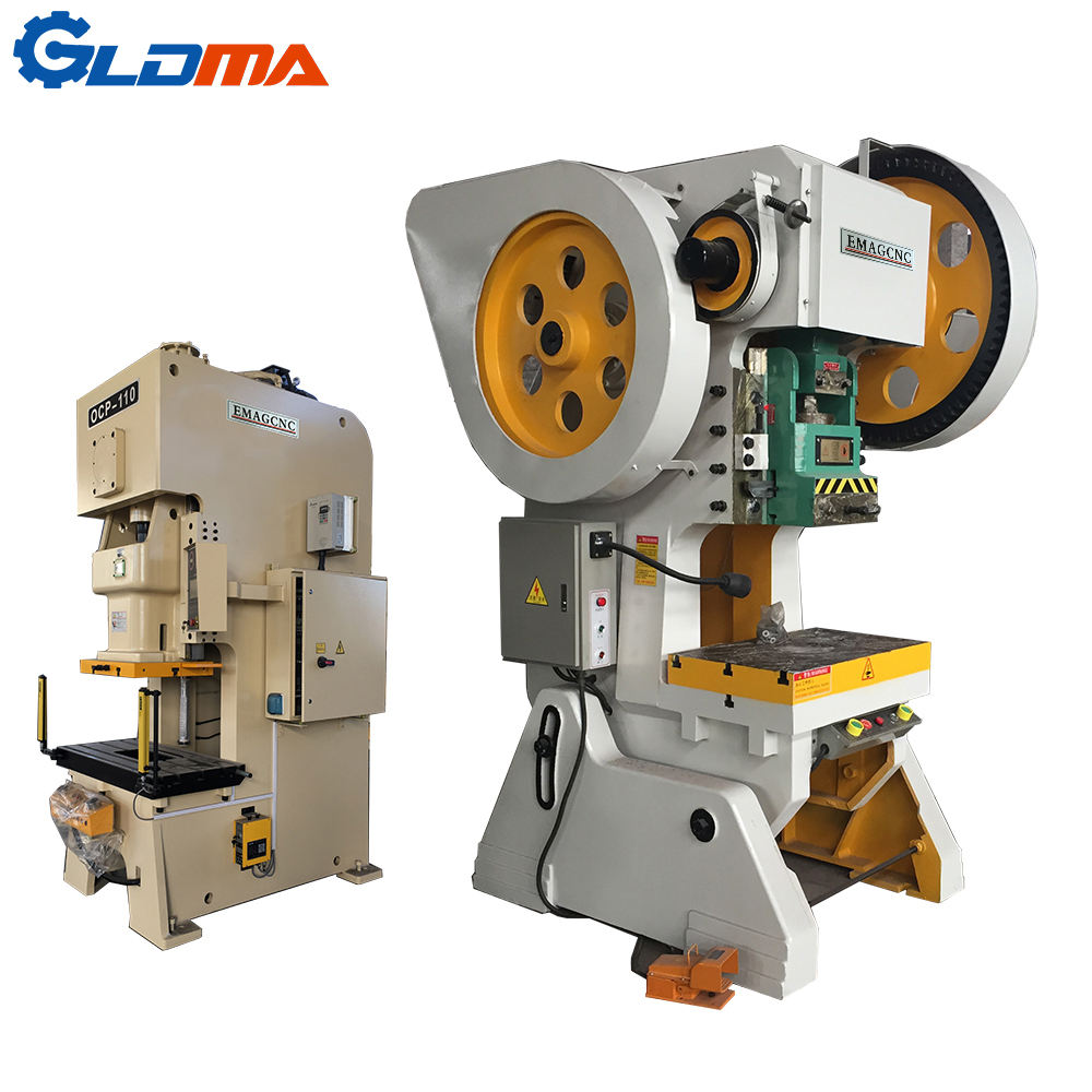 Low price J23-16T aluminum foil container punching machine