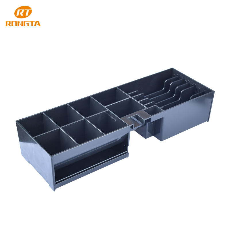 flip top cash drawer cabinet for payment 7 bill 8 coins