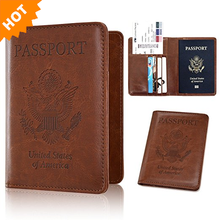 Top Grade Unique Wholesale Custom Passport Holder Leather Passport Cover