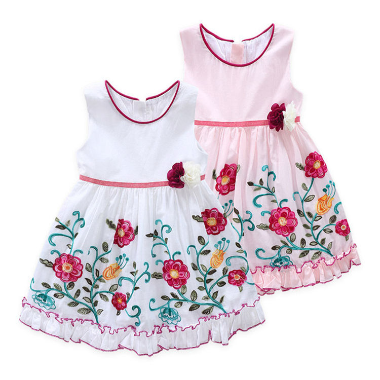 SD-989G names of frock design for baby girl dresses 2 year old girl dress