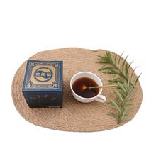 top natural compressed black sugar tea ginger tea with black sugar with free-pollution ginger